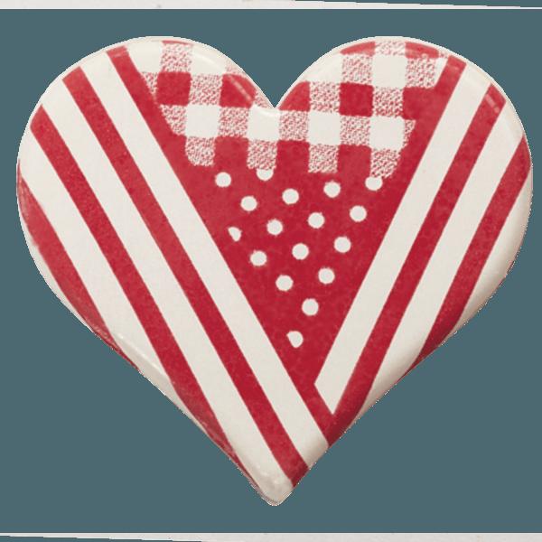 coeur en chocolat chocolatree style vichy