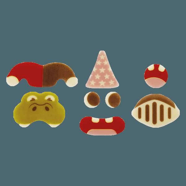 kit personnages pour eclairs