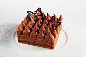 Chocolatree décors chocolat - entremets papillon pâques