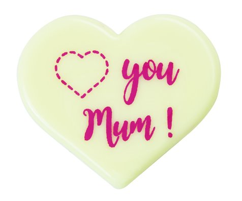 Gerfeld Mum heart Chocolatree decorations